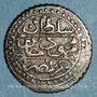 Münzen Algérie. Ottomans. Mahmoud II (1223-1255H). 5 aspres 12(4)0H. Alger
