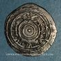 Münzen Maghreb. Fatimides. Ep. al-'Aziz ? (365-386H).  Imitation d'un 1/2 dirham