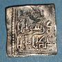 Münzen Maghreb. Hafsides (vers 700 H). Dirham anonyme (caractères coufiques)