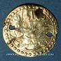 Münzen Maghreb. Pseudo-monnaie ottomane (XIXe). Or. Type d'un demi de sultani de Mahmoud II (uniface)
