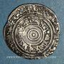 Münzen Syrie. Fatimides. al-'Aziz (365-386H).  1/2 dirham 3(8)1H. Sur (Tyr)