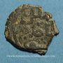 Münzen Syrie. Mamlouks bahrites. Muhammad I (3e règne, 709-741H). Br. Fals (73)2H, Damas