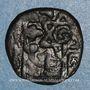 Münzen Syrie. Mamlouks bahrites. Sha'ban II (764-778H).  Fals, Alep