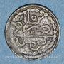 Münzen Tunisie. Ottomans. Mahmoud I (1143-1168H). Kharub 1152H. Tunis