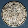 Münzen Allemagne. 1 mark 1914 F