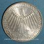 Münzen Allemagne. 10 mark 1972 D. Jeux olympiques. Spirale, in München