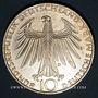Münzen Allemagne. 10 mark 1972 D. Jeux olympiques. Sportif et sportive