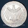 Münzen Allemagne. 10 mark 1972 F. Jeux olympiques. Spirale, in München