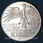 Münzen Allemagne. 10 mark 1972 G. Jeux olympiques. Stade