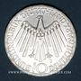 Münzen Allemagne. 10 mark 1972 J. Jeux olympiques. Spirale, in München