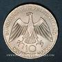 Münzen Allemagne. 10 mark 1972 J. Jeux olympiques, Symbole d'union