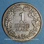 Münzen Allemagne. République de Weimar. 1 reichsmark 1925 D