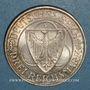 Münzen Allemagne. République de Weimar. 3 reichsmark 1930 F. Rheinlandräumung