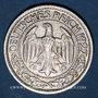 Münzen Allemagne. République de Weimar. 50 reichspfennig 1927 D