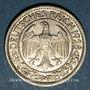 Münzen Allemagne. République de Weimar. 50 reichspfennig 1928 G