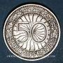 Münzen Allemagne. République de Weimar. 50 reichspfennig 1929 A