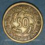 Münzen Allemagne. République de Weimar. 50 rentenpfennig 1924 G