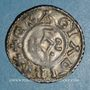 Münzen Charles le Chauve (840-877). Denier. Reims