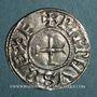 Münzen Pépin I (814-838) ou Pépin II (839-852), roi d'Aquitaine. Denier. Toulouse