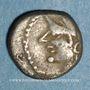 Münzen Allobroges. Région du Dauphiné. Denier à l'hippocampe, 1er s. av. J-C