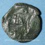 Münzen Bituriges Cubi. Région de Bourges. Bronze au loup, 1er siècle av. J-C
