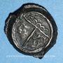 Münzen Carnutes. Région de Chartres. Potin à l'aigle