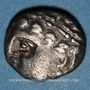 Münzen Cavares. Avignon. Drachme au bouquetin de la classe II,  vers 90-75 av. J-C