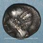 Münzen Centre de la Gaule. Drachme imitée du monnayage d'Emporion, type de Bridiers. 3e siècle av. J-C