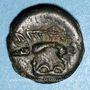 Münzen Leuques. Région de Toul. Potin classe Ia, 1er siècle av. J-C