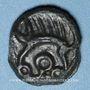 Münzen Leuques. Région de Toul. Potin classe Ie, 1er siècle av. J-C
