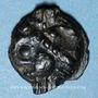 Münzen Leuques. Région de Toul. Potin classe Ij, 1er siècle av. J-C