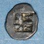 Münzen Marseille. Hémiobole milésiaque au sanglier ailé, 500-470 av. J-C. Type du trésor d'Auriol