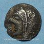 Münzen Marseille. Obole phocaïque à la tête d'Athéna, 470-460 av. J-C