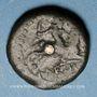 Münzen Médiomatrices. Région de Metz. Bronze classe I, vers 60-25 av. J-C