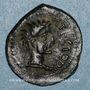 Münzen Pictones. Région de Poitiers. Atectori. Bronze, vers 40 av. J-C