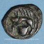 Münzen Rémi. Région de Reims. Potin, 3e siècle av. J-C