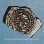 Münzen Rutènes. Région de Rodez. Drachme au sanglier et à la petite tête au collier perlé, 1er s. av. J-C