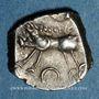 Münzen Rutènes. Région de Rodez. Drachme au sanglier et lunules, 1er s. av. J-C