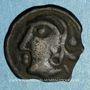 Münzen Séquanes. Région de Besançon. Doci. Potin, vers 80-50 av. J-C