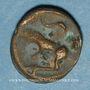 Münzen Turones. Région de Tours. Potin à la tête diabolique, vers 80-50 av. J-C