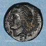 Münzen Véliocasses. Région de Rouen - Suticcos. Bronze au lion, vers 60-30/25 av. J-C