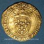 Münzen Charles VII (1422-1461). 1/2 écu d'or à la couronne, 4e émission (26 mai 1447). Rouen (point 15e)