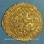 Münzen Charles VII (1422-1461). Ecu d'or à la couronne. 1er type (21 janvier 1423). Toulouse (point 5e)