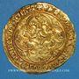 Münzen Charles VII (1422-1461). Ecu d'or à la couronne. 1er type (21 janvier 1423). Tournai (point 16e)