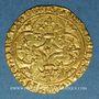 Münzen Charles VII (1422-1461). Ecu d'or à la couronne. 2e émission. Point 9e. La Rochelle