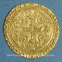 Münzen Charles VII (1422-1461). Ecu d'or à la couronne. 3e type, 3e émission. Tours, point 6e