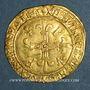 Münzen François I (1515-1547). Ecu d'or au soleil, 5e type, 3e émission. Lyon (point 12e)