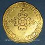 Münzen Louis XIII (1610-1643). Ecu d'or au soleil, 1er type, 1637 D. Lyon