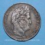 Münzen Hagondange (Lorraine). La Mandolinette. Médaille en argent. 37 mm / 5 francs Louis Philippe