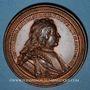 Münzen Lorraine. Nicolas d'Anjou (1470-1473). Médaille en bronze